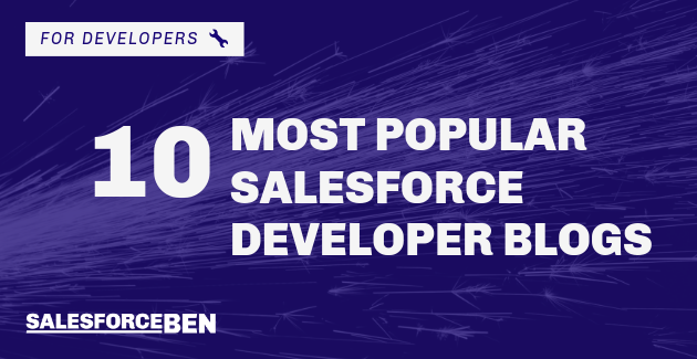 Salesforce Top 50 Developer Blog Winner